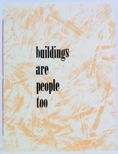Buildings are people too cover